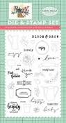 Beauty All Around Die & Stamp Set - Carta Bella