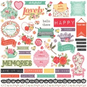 Belle Fleur Element Sticker - Photoplay