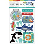 Chipboard - Fish Tales - Photoplay - PRE ORDER