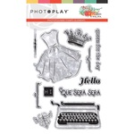 Belle Fleur Stamp Element - Photoplay