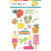 Puffy Stickers - Squeeze in Some Fun - Photoplay - PRE ORDER