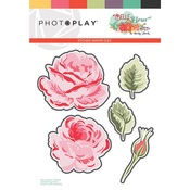 Belle Fleur Dies Layered Flower - Photoplay
