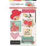 Belle Fleur Chipboard - Photoplay