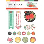 Belle Fleur Brads Pack - Photoplay