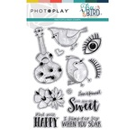 Free Bird Stamp Element - Photoplay