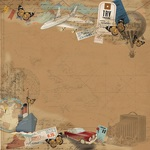 By Land Air Or Sea Paper - Here & There - Photoplay
