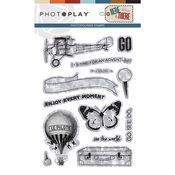 Here & There Stamp Element - Photoplay
