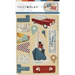Here & There Chipboard - Photoplay - PRE ORDER