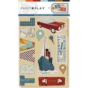 Here & There Chipboard - Photoplay