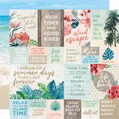 Tides Paper - Paradise Found - KaiserCraft - PRE ORDER