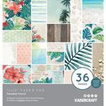 "Paradise Found Specialty 12""X12"" Paper Pad 36/Pkg - KaiserCraft"