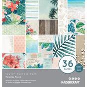 "Paradise Found Specialty 12""X12"" Paper Pad 36/Pkg - KaiserCraft"