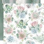 Succulents Paper - Greenhouse - KaiserCraft