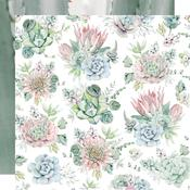 Succulents Paper - Greenhouse - KaiserCraft - PRE ORDER