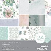 Greenhouse 6 x 6 Paper Pad - KaiserCraft