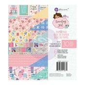 Traveling Girl 6 x 6 Paper Pad - Prima