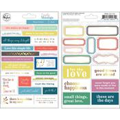 Phrase Stickers - Everyday Musings - Pinkfresh Studio - PRE ORDER