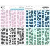 Puffy Alpha Stickers - Everyday Musings - Pinkfresh Studio