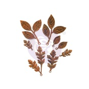 Finnabair Mechanicals Set Woodland Leaves - Prima