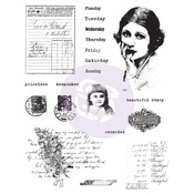 Finnabair Cling Stamp Beautiful Story