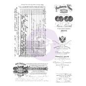 Finnabair Cling Stamp #Old Paper Work