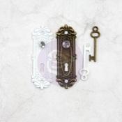 Memory Hardware Antique Metalware-Avigno Lock & Key