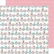 Flower Baskets Paper - Stay Sweet - Amy Tangerine