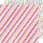 Candy Stripe Paper - Stay Sweet - Amy Tangerine