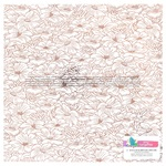 Clear Acetate Blush Foil Sheet - Stay Sweet - Amy Tangerine