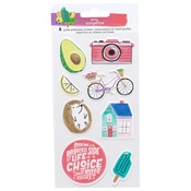 Stay Sweet Puffy Stickers - Amy Tangerine