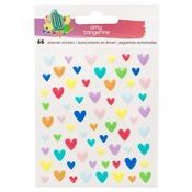 Stay Sweet Epoxy Heart Stickers - Amy Tangerine