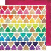 Paper Hearts Paper - Color Kaleidoscope - Vicki Boutin