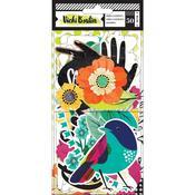 Color Kaleidoscope Cardstock Icons - Vicki Boutin