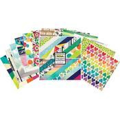 Color Kaleidoscope 12 x 12 Paper Pad - Vicki Boutin