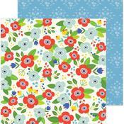 Flower Market Paper - Chasing Adventures - Pebbles