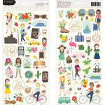 Chasing Adventures Cardstock Stickers - Pebbles - PRE ORDER
