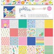 Oh Summertime 12 x 12 Paper Pad - Pebbles - PRE ORDER