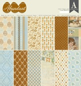 Abundant 12 x 12 Paper Pad - Authentique