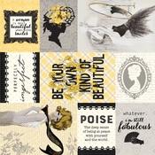Poised Six Paper - Authentique