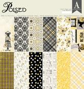 Poised 12 x 12 Paper Pad - Authentique