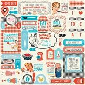 Ingredient Details Sticker Sheet - Authentique