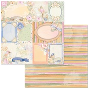 Dragonflies Paper - Harmony - Bo Bunny