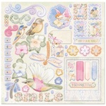 Harmony Chipboard Pieces - Bo Bunny - PRE ORDER