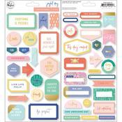 Joyful Day Cardstock Stickers - PRE ORDER
