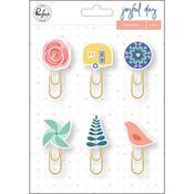 Joyful Day Paper Clips - Pinkfresh
