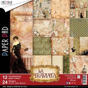 La Traviata Double-Sided Paper Pack