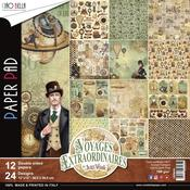 Voyages Extraordinaires Double-Sided Paper Pack