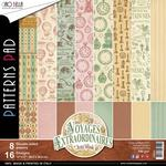 Voyages Extraordinaires Double-Sided Paper