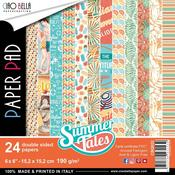 Summer Tales 6 x 6 Double-Sided Paper Pad