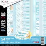 Ninna Nanna Boy 6 x 6 Double-Sided Paper Pad